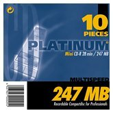 BestMedia Platinum CD-R 28min/247MB, 10-pack, 8cm