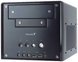 Shuttle XPC SB75G2VP mini-Barebone aluminium (Socket 478/200/dual PC3200 DDR)