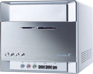 Shuttle XPC ST61G4VP mini-Barebone aluminum (socket 478/200/dual PC3200 DDR)