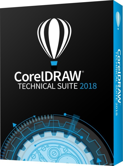 Corel CorelDraw technical Suite 2018 (multilingual) (PC)