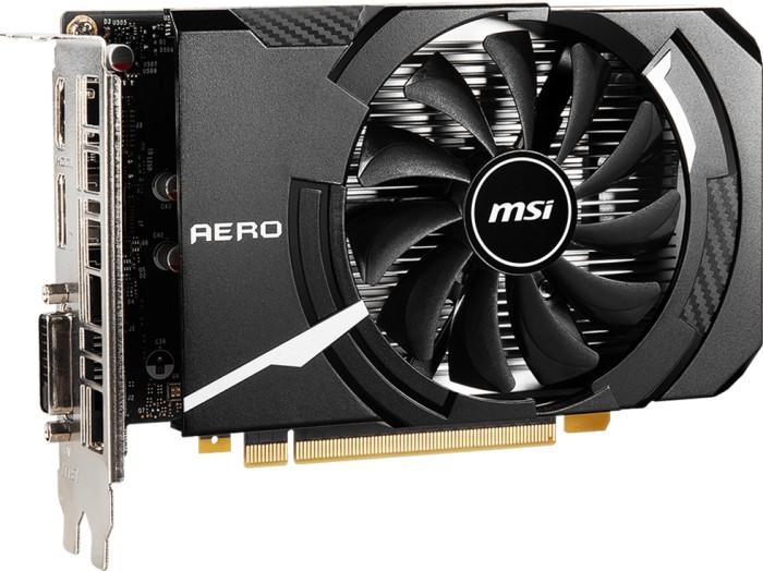 MSI GeForce GTX 1650 D6 Aero ITX OC, 4GB GDDR6, DVI, HDMI, DP (V809-3446R)