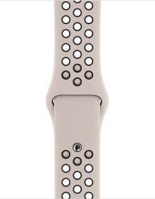 Apple Nike Sportarmband S/M und M/L für Apple Watch 40mm Desert Sand/schwarz (MWU82ZM/A)