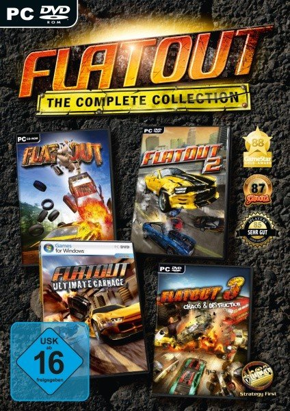Flatout - The Complete Collection (German) (PC) -- via Amazon Partnerprogramm