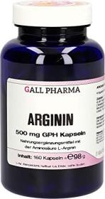 arginine 500mg GPH capsules, 160 pieces