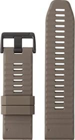 Garmin replacement bracelet QuickFit 26 silicone dunkelbeige (010-12864-02)