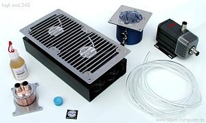Aqua computer High End 240 water cooling kit (Socket A/478)