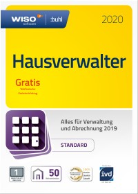 Buhl Data WISO Hausverwalter 2020 Standard, 50 Wohneinheiten (deutsch) (PC)
