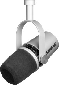 Shure MV7 silber