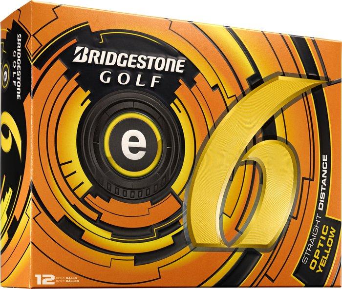 Bridgestone Golf e6, gelb, 12 Stück