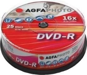 AgfaPhoto DVD-R 4.7GB 16x, 25er Spindel (450203)