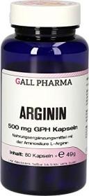arginine 500mg GPH capsules, 80 pieces