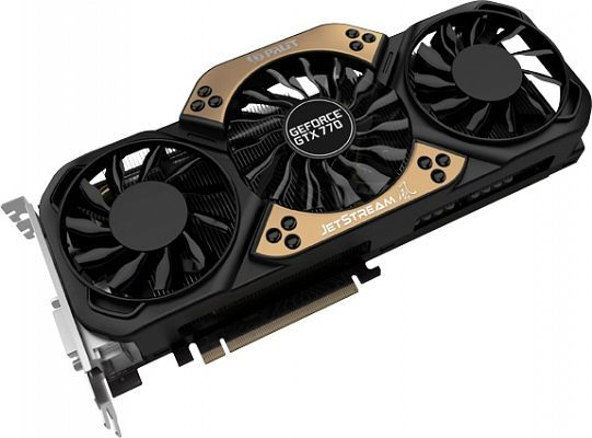Palit GeForce GTX 770 JetStream, 2GB GDDR5, 2x DVI, HDMI, DisplayPort (NE5X770H1042-1045J)