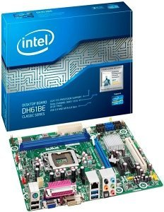 Intel DH61BE, H61 (B3) dual PC3-10667U DDR3) (BOXDH61BEB3)