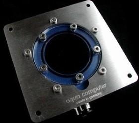 Aqua Computer Edelstahl-Einbaublende für Aquatube (34901)