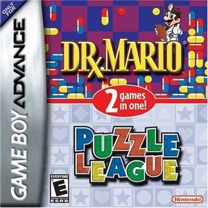2 Games in 1 - Dr. Mario & puzzle League (GBA)