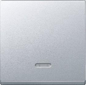 Merten System M Wippe Thermoplast edelmatt, aluminium (431060)