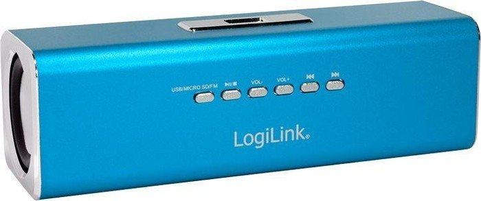 LogiLink DiscoLady Soundbox blau (SP0038B)