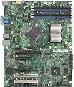 Intel Entry Server board S3210SHLC, i3210 (dual PC2-6400 DDR2)