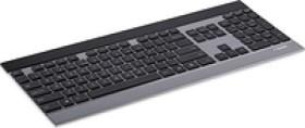 Rapoo Ultraslim Touch Keyboard E9270P silver, USB, DE (12367)