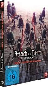 Attack on Titan Teil 3: Gebrüll des Erwachens (DVD)