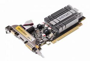 Zotac GeForce 210 (GT218-300-B1) Synergy passive, 512MB DDR2, VGA, DVI, HDMI (ZT-20306-10L)