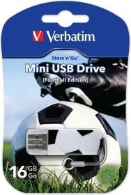 Verbatim Store 'n' Go Mini Sports Edition Football 16GB, USB-A 2.0 (49879)
