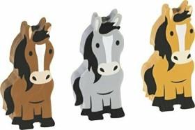 Brunnen Radierer Fun Collection Pferde, 3er-Set (1027381)