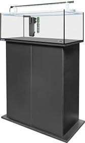 sera AquaTank 96l Tube Holder Aquarium-Set mit 90cm Unterschrank, Black (32454)