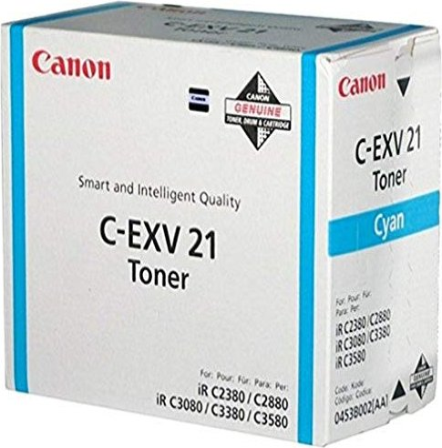 Canon C-EXV21c Toner cyan (0453B002) -- via Amazon Partnerprogramm