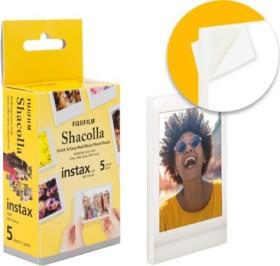 Fujifilm instax mini Shacolla self-adhesive instant film, 5 recordings (70100135751)