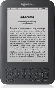 Amazon Kindle Keyboard Wi-Fi 3rd Generation (D01101)
