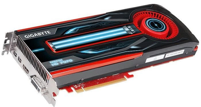Gigabyte Radeon HD 7970, 3GB GDDR5, DVI, HDMI, 2x Mini DisplayPort (GV-R797D5-3GD-B)