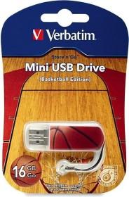 Verbatim Store 'n' Go Mini Sports Edition Basketball 16GB, USB-A 2.0 (98679)