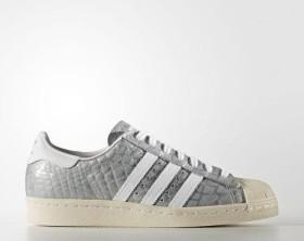adidas Superstar 80s Metal-Toe silber (Damen) (S76415)