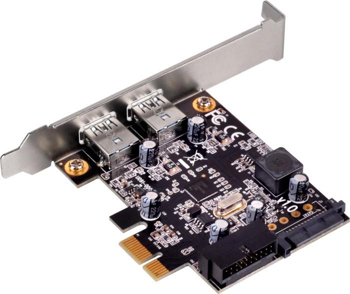 SilverStone SST-EC04-E, 4x USB 3.0, PCIe 2.0 x1