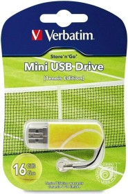 Verbatim Store 'n' Go Mini Sports Edition Tennis 16GB, USB-A 2.0 (98683)