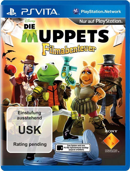 The Muppets: Movie Adventure (English) (PSVita) starting ...