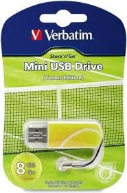Verbatim Store 'n' Go Mini Sports Edition Tennis 8GB, USB-A 2.0 (98511)