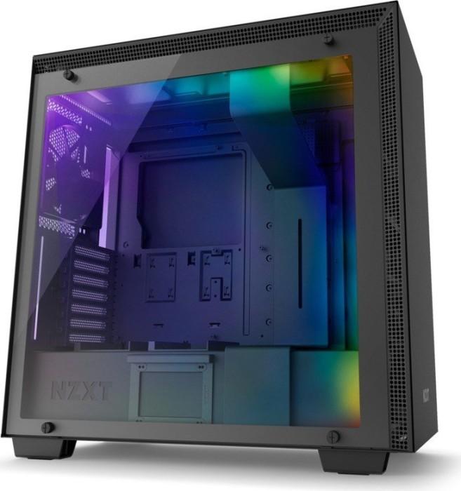 NZXT H700i schwarz, Glasfenster (CA-H700W-BB)