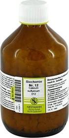 Nestmann Biochemie 12 Calcium sulfuricum D12 Tabletten, 1000 Stück