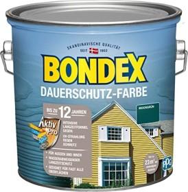 Bondex Dauerschutz-Farbe Holzschutzmittel moosgrün, 2.5l (329883)