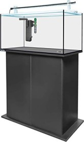 sera AquaTank 128l Tube Holder Aquarium-Set mit 80cm Unterschrank, Black (32466)