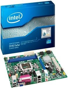 Intel DH61WW, H61 (B3) (dual PC3-10667U DDR3) (BOXDH61WWB3)