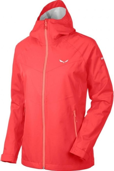 check out e7ff1 4bd28 Salewa Puez PTX Regenjacke hot coral (Damen) (0000024546-6090) ab € 69,04