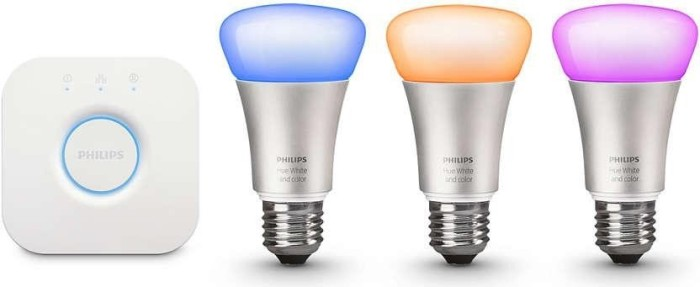 Philips Hue White and Color Ambiance E27 10W Starter-Kit (59294600)