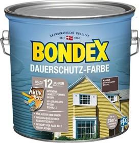 Bondex Dauerschutz-Farbe Holzschutzmittel kakao/schokoladenbraun, 2.5l (329889)