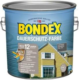 Bondex Dauerschutz-Farbe Holzschutzmittel schiefer, 2.5l (380852)