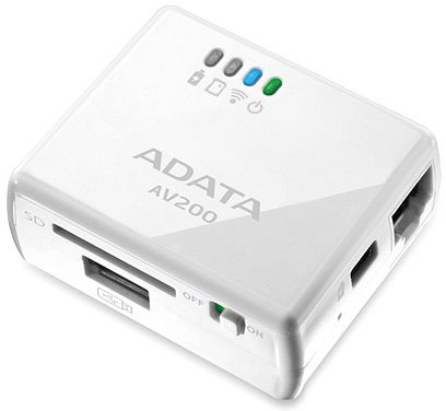 ADATA DashDrive Air AV200 Wireless Access Point
