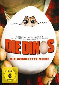 Die Dinos Box (Season 1-4) (DVD)