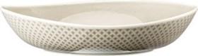 Rosenthal Junto Pearl Grey - Relief nur außen Suppenteller 22cm (10540-405201-10352)
